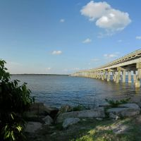 Rt. 360 - Tappahannock Bridge crossing the Rappahannock River, Essex County, VA., Таппаханнок