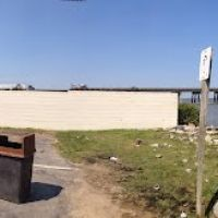 TMSP 360° panoramic view - Prince Street at the Rappahannock River shore, Таппаханнок