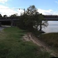 TMSP - Location of Disused Wharf close to the Downing Bridge on the Rappahannock River at Tappahannock, Таппаханнок
