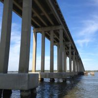 Downing Bridge - Rappahannock River - links Tappahannock - Essex County, Middle Peninsula to Richmond County in the Northern Neck, Таппаханнок