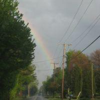 telephone wires and rainbow, Хайленд-Спрингс