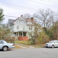 VIRGINIA: HAMPTON: classic houses: house near south end of South Armistead Avenue, Хэмптон