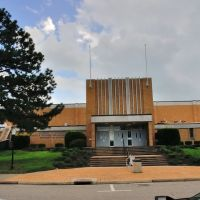 VIRGINIA: HAMPTON: HAMPTON UNIVERSITY: Jerome H. Holland Hall (physical education), Хэмптон