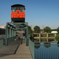 Woods Family Fishing Bridge in Beloit Wisconsin, Белоит