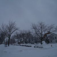 Beloit College in winter, Белоит