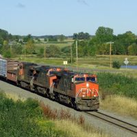CN 2544  Junction City, WI, И-Клер