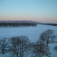 結冰的密西西比河(La Crosse, Wisconsin), Ла-Кросс