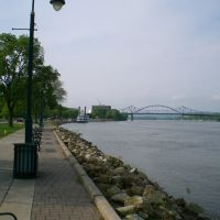 Riverside Park at the Mississippi, La Crosse, WI, Ла-Кросс