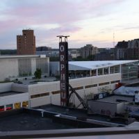 Orpheum Theater Rooftop View, Madison, WI., Мадисон