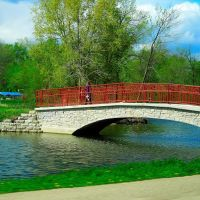 Tenney Park-A.G. Zimmerman bridge, Мадисон