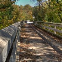 Bridge to Somewhere - on the Sugar River Bike Trail near Albany, WI, Олбани