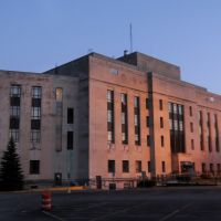 Winnebago Co. Courthouse (1937) Oshkosh WI 7-2014, Ошкош
