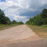 Old US 51 Segment near Knowlton, WI, Фонд-дю-Лак