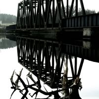 Railroad bridge, Фонд-дю-Лак