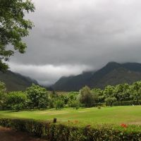 Looking towards Iao Valley From Maui Tropical Plantation, Ваикапу