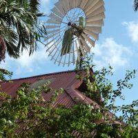 ハワイ・ワイレアの果樹園:風車, Ваикапу