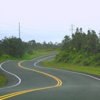 Hawaii winding road to Hilo, Ваилуку