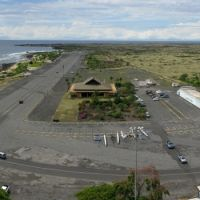 Old Kona Airport, taken from a kite, Каилуа