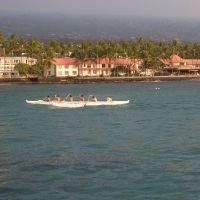 Long Boats in Kona Bay, Каилуа