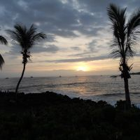 Sunset in Kona, Hawaii, Каилуа