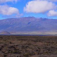 2013-10-20 Mauna Kea from the saddle behind Puu Huluhulu cone., Канеоха