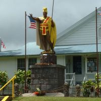 Statue of King Kamehameha the Great, Капаау