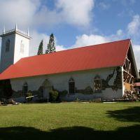 Kalahikiola Church (post 10/06 earthquake), Капаау