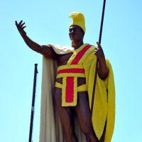 King Kamehameha Statue, Kapaau, Hawaii, Капаау