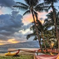 Kihei Canoe Club beach, Кихей