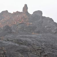 2014-05-01 Lava vents with interesting formations., Лиху