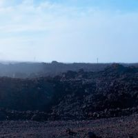 Looking towards Hawaii - Mauna Loa - Lava Roadside 180 - nwicon.com, Лиху