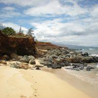Coastal erosion, Paia, Паия