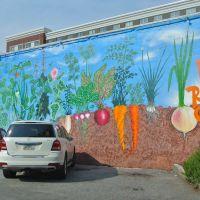 Veggie mural, Атенс