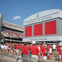 Sanford Stadium, Univ. of GA., Атенс