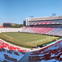 Sanford Stadium wide angle view., Атенс