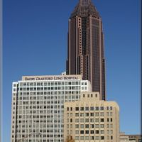 Emory Crawford Long Hospital & Bank of America Plaza, Атланта