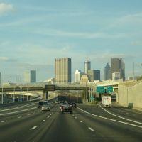 I75 and 85 at I20, Атланта