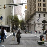 Street View of Downtown Atlanta GA, Атланта