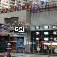Cartoon Network no CNN Center em novembro de 2010., Атланта