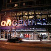 CNN Center by night, Атланта
