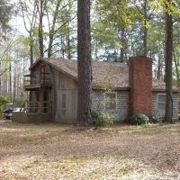 Bainbridge, Georgia - Usa - House in the woods, Аттапулгус