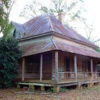 Abandoned farmhouse, rural Jackson County Fla (12-30-2006), Аттапулгус