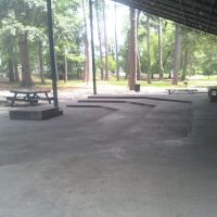 lake bottom stage, Белведер Парк