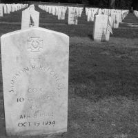 Private Sampson B. Kitchens, the only Confederate soldier to be buried at Andersonville Cemetery.  God rest his soul, Вилмингтон-Айленд