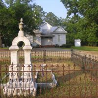 On This site June 27th, 1822, the Georgia Baptist Association was organized, Вхигам