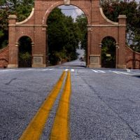 Oakland Cemetery entrance, Грешам Парк
