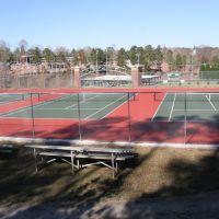 Bergen Tennis Courts, Деморест