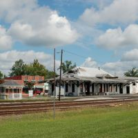 Former Seaboard Coast Line Railroad Station at Jesup, GA, Джесап