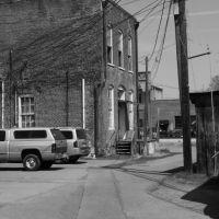 Back Alley near the former D. Morgans, Картерсвилл