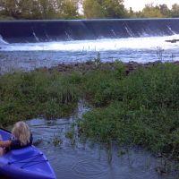 Very old power dam, Картерсвилл